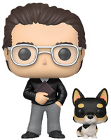 Stephen King with Corgi Molly Funko Pop Vinyl New in Box