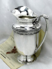 FIRST LOVE 1847 ROGERS ART DECO c.1937 WATER PITCHER 95oz