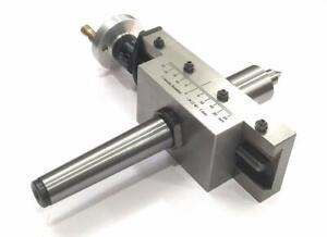 NEW IMPROVED TAPER TURNING ATTACHMENT WITH REVOLVING LIVE CENTER-(MT3)