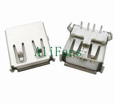 5PCS USB Type A Female Socket A/F 90 degree Female Socket Connector