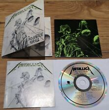 Metallica And Justice For All Remaster Digipak CD from Deluxe Box Set New