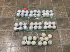 Used Golf Balls Titleist Nike Callaway Precept Wison Spalding Top Flight