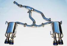 Invidia Q300 Cat back Exhaust titanium tip suit SUBARU STi + WRX Sedan MY11
