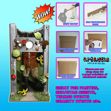 MEDIEVAL STOCKS STAND IN LIFESIZE CARDBOARD CUTOUT STANDEE STANDUP SC226