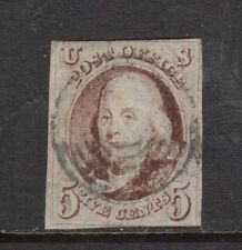 USA #1 Used With Rare 7 Ring Canadian Cancel Variety
