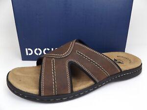 Dockers Mens Sunland Casual Cushioned Comfort SZ 15 WIDE Slide Sandal Shoe 20770