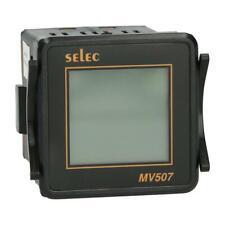 Voltmeter Selec MV507-230V-CE digital RMS 1-phasig 50...480 V LCD Balkenanzeige