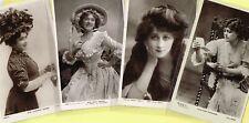 ☆ EDWARDIAN THEATRE / MUSIC HALL ACTRESS / DANCER ☆ 1900s Postcards LIST 52