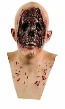 MENS EVIL NO FACE HEAD AND NECK LATEX ZOMBIE HALLOWEEN HORROR FILM COSTUME MASK