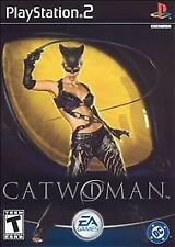 PS2 Catwoman (Sony PlayStation 2, 2004)  Disc Only Tested Fully Resurfaced