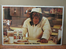 Watch out, Mc Donalds1 1975 funny vintage poster 1592
