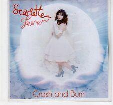 (EF37) Scarlette Fever, Crash and Burn - 2011 DJ CD