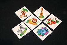 18 x Zoo Animal Tattoos Great for Kids Parties or Stocking Fillers