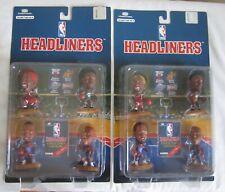 8 CORINTHIAN NBA SET LOT 1996 HEADLINERS RODMAN KEMP MALONE BARKLEY BASKETBALL