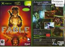 Fable - MICROSOFT - Xbox - Complet -  PAL FR