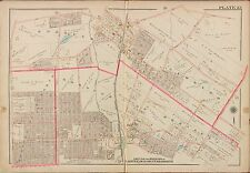 1913 G.W. BROMLEY, CLOSTER, DEMAREST, HAWORTH, BERGEN COUNTY N.J. COPY ATLAS MAP