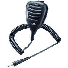 Icom HM-165 Speaker Mic w/Alligator Clip - Waterproof