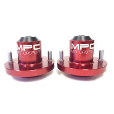 MPC Motorsport Extended Tophats | Honda Civic | Acura Integra [Red] - USA