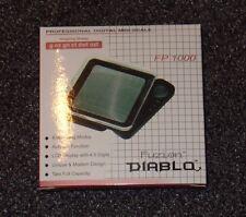 Fuzion Diablo FP-1000 FP 1000 Pro Digital Mini Scale 1000g x 0.1 Silver - NEW