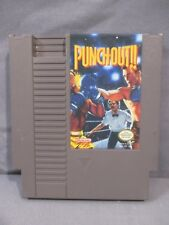 Nintendo PUNCH OUT Tested Game Cartridge only 1990 NES