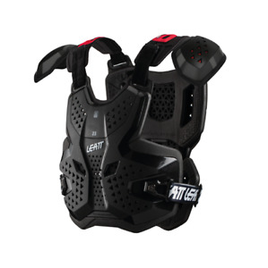 NEW LEATT 3.5 CHEST PROTECTOR PRO BLACK ADULT ROOST MOTOCROSS BODY ARMOUR BMX