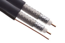 RG-6 Dual Burial Coax Cable - 25ft Length ( 28W113)