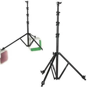 "86"" Air Cushioned Reverse Leg Adjustable Light Stand Photo Studio Photography"