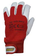 6 Paar altexx® Mechanikerhandschuhe, Größe 10, rot, Montage