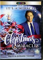 Christmas Miracles NEW DVD It's A Miracle Holiday Stories Host Richard Thomas