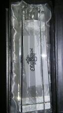 "Oleg Cassini Crystal Candlestick BRIGITTE New In Box 6"""