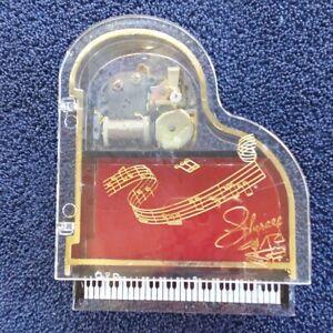 "Liberace Grand Piano Music Box Jewelry Box ""We've Only Just Begun"" Sankyo"