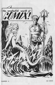 Wonderful World of Comix Fanzine 6