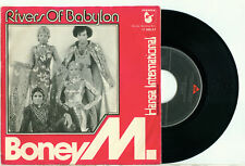 "BONEY M. Rivers of Babylon / Brown Girl (1978 HOLLAND PS EX VINYL SINGLE 7"")"