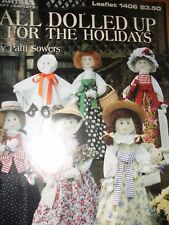MUSLIN DOLL PATTERN ALL DOLLED UP FOR THE HOLIDAYS