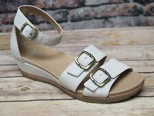 Dansko Astrid Textured Ivory Nubuck Sandal  *1532-650300