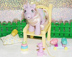 Mein kleines/ My Little Pony G1 Drink N Wet *Baby Snookums* Wellchen