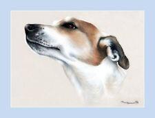Dog Print Elegant Profile by Irina Garmashova