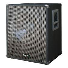 IBIZA SUONO 15î SUBWOOFER AMPLIFICATO BASS Bin 800 W DJ Disco PA Sound System
