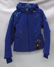 Spyder Womens Thera Insulated Ski Jacket 554204 Blue My Mind Size 8