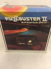 Rare Vtg FuzzBuster Ii 1975 Fuzz Buster 2 Multi-Band Radar Detector New In Box!