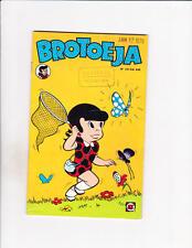 Brotoeja No 121 1977 Brazilian Little Dot Chasing Butterflies Cover!