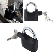 120db Siren Alarm Lock Security Anti-Theft Padlock Door Motor Bike Bicycle 3