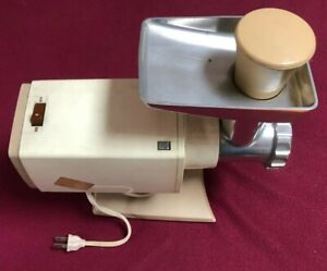 Vtg. OSTER FOOD GRINDER 480 Series E Electric Made in Japan c.1970s works!