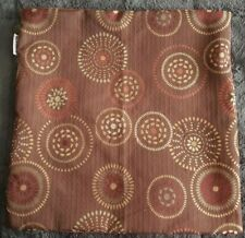 Pier 1 Imports ~ Medallion Microsuede Pillow Cover ~ 17x17
