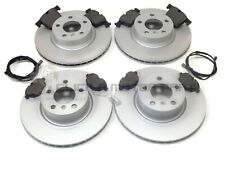 2004-2011 BMW X3 2.0 2.5 3.0 E83 FRONT BRAKE DISCS /& PADS SET /& WEAR SENSOR