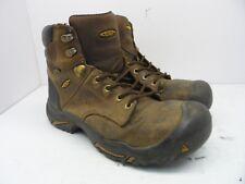 """Keen Men's MT VERNON 6"""" BOOT STEEL TOE Work Shoe CASCADE BROWN Size 10EE"""
