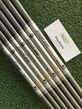 Aerotech Steel Fiber i95 Stiff Shafts Brand New 4-pw