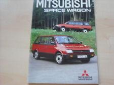 52711) Mitsubishi Space Wagon Prospekt 10/1986