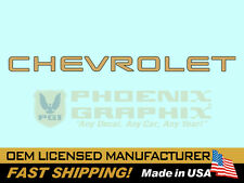 1994 1995 1996 1997 1998 1999 2000 2001 2002 Chevrolet S-10 Truck Tailgate Decal