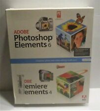 ADOBE Photoshop Elements 6 & Adobe Premiere Elements 4 New In Box